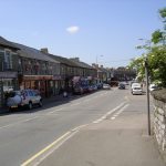 View of Cowbridge Road in Pontyclun