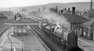 Pontyclun Railway station old picture
