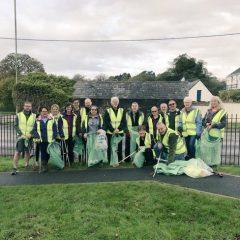 Environment group volunteers