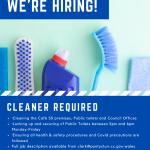 Cleaner advert