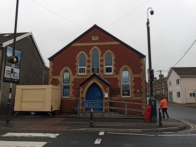 Giles gallery - former Methodist Chapel