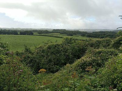 Middle age farming site near Groesfaen