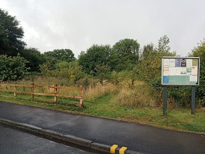 Possible site of bronze age barrow
